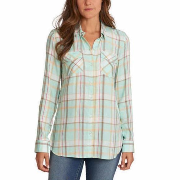 Jessica Simpson Tops - Jessica Simpson Petunia Button-up Shirt